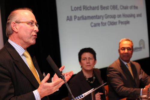 Lord Best, guest speaker at the report launch