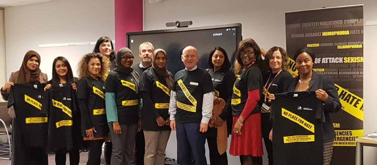 Tower Hamlets No Place for Hate Champions ceremony
