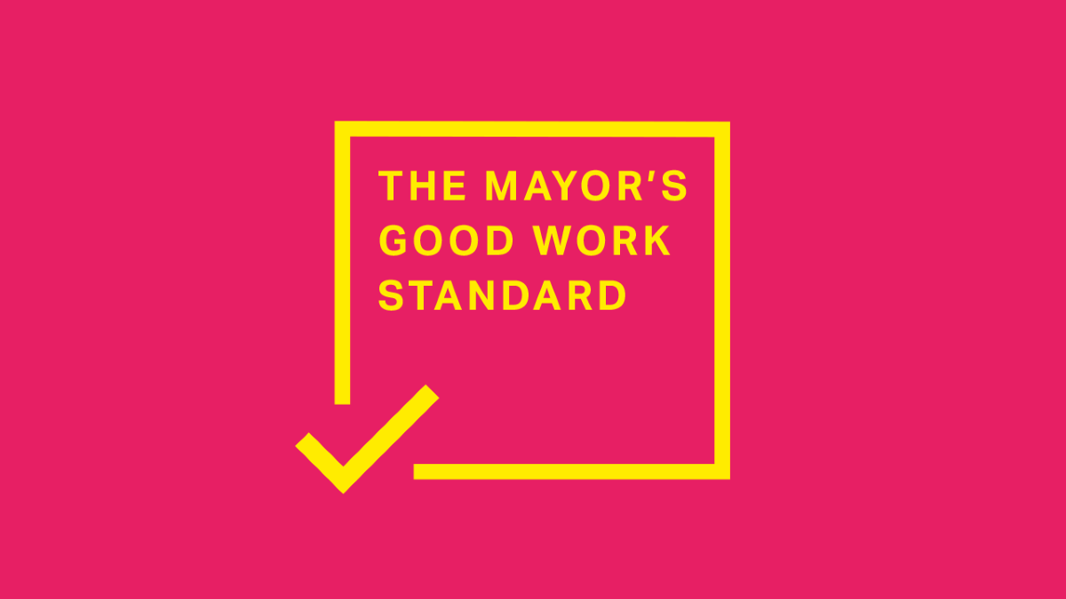 The Mayors Good Work Standard Logo